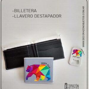 Kit Billetera y Llavero Día del Padre